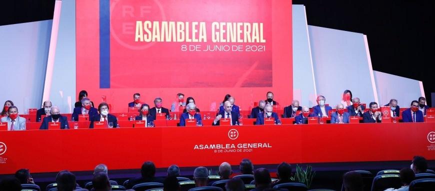 Els estaments catalans, presents en l'Assemblea de la RFEF