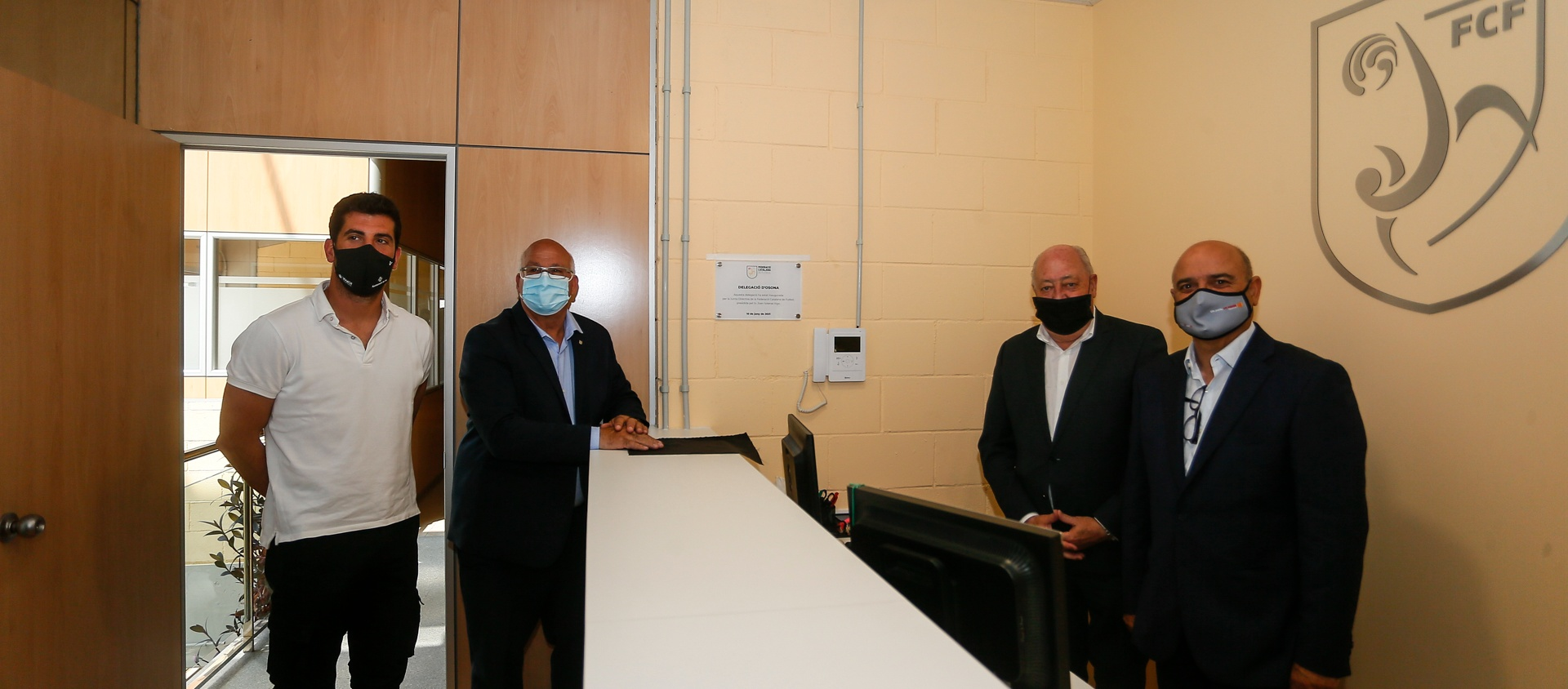 L'FCF inaugura la nova seu de la delegació d'Osona