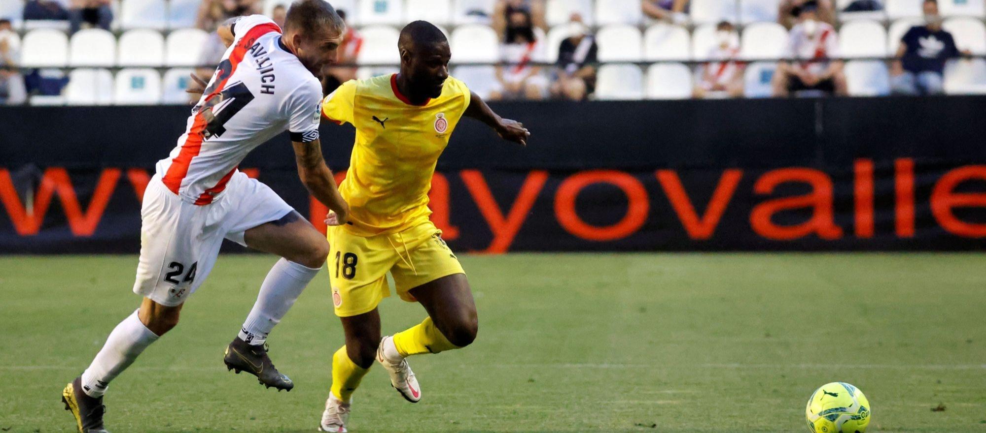 Meritori triomf del Girona a Vallecas que l'acosta a Primera Divisió