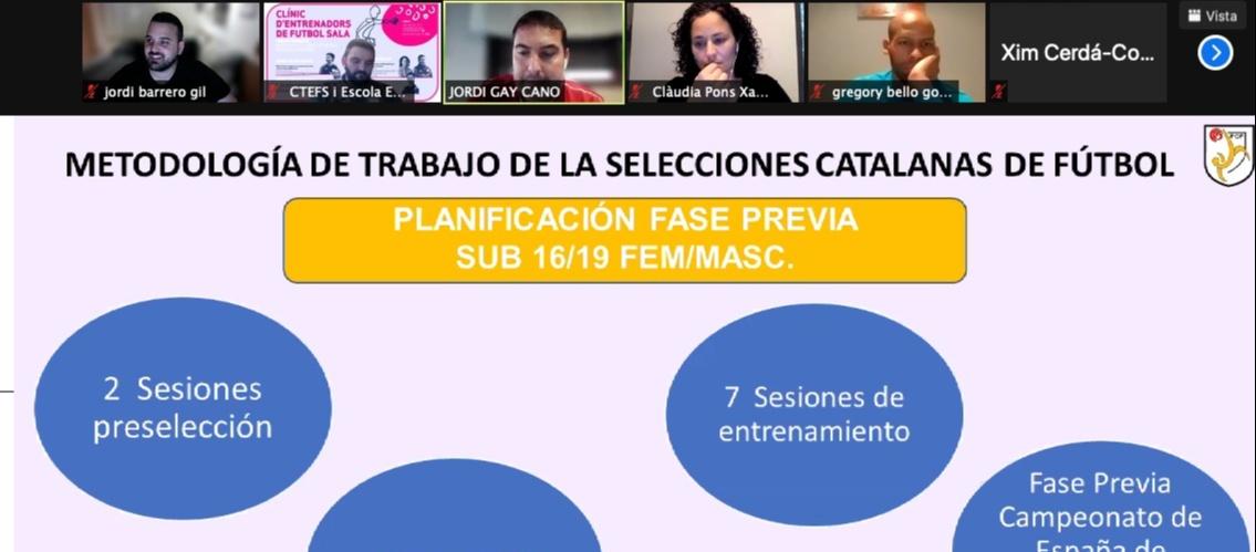La metodologia de les seleccions condicionada pel número de sessions d'entrenament, per Clàudia Pons i Jordi Gay