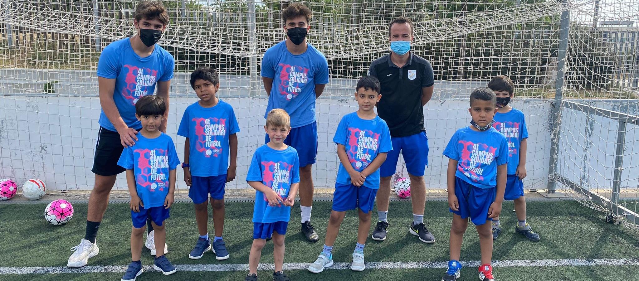 Arrenca el 4t campus de Futbol Solidari de la Fundació de l'FCF
