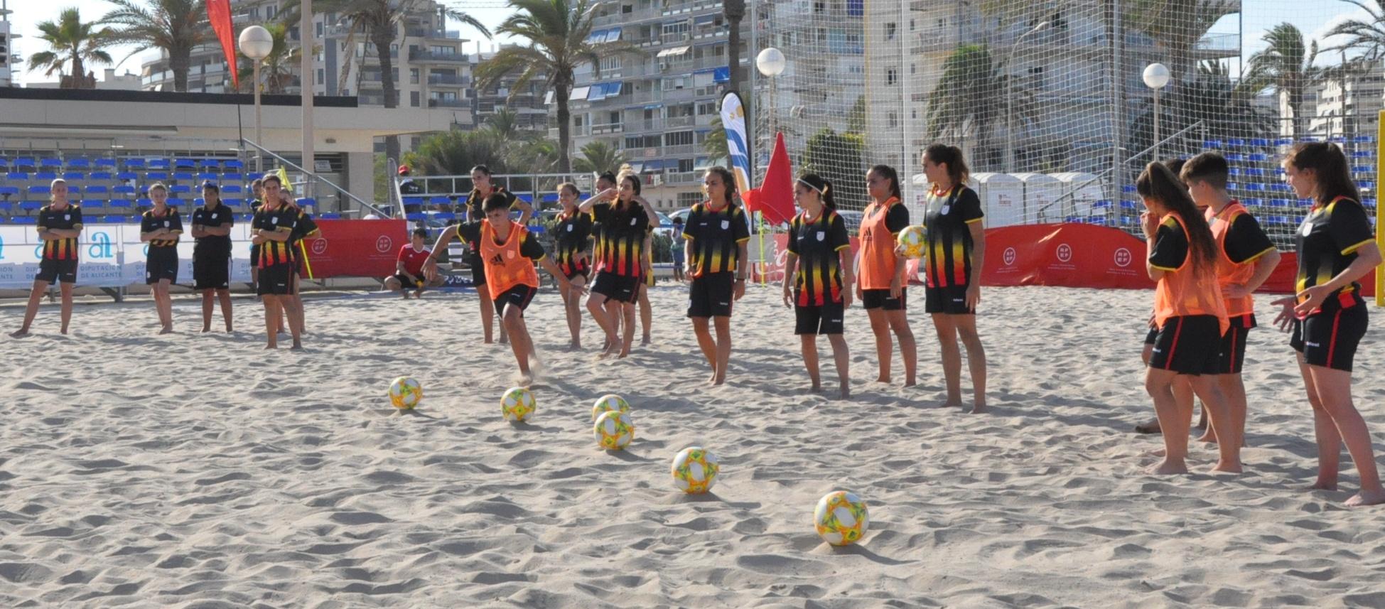 Modificat el pla de competició del Campionat d'Espanya de futbol platja femení