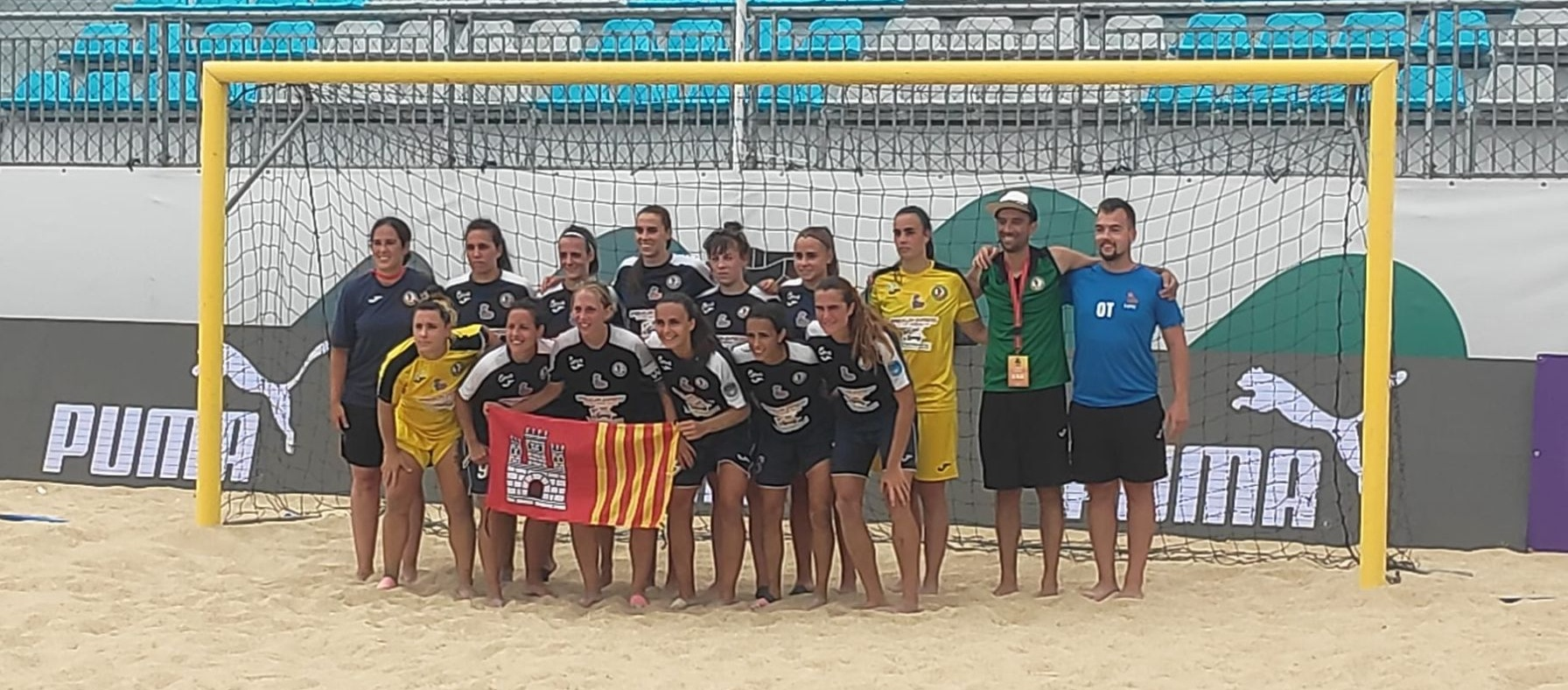 L'EF Bonaire de futbol platja guanya el bronze a la Euro Winners Cup