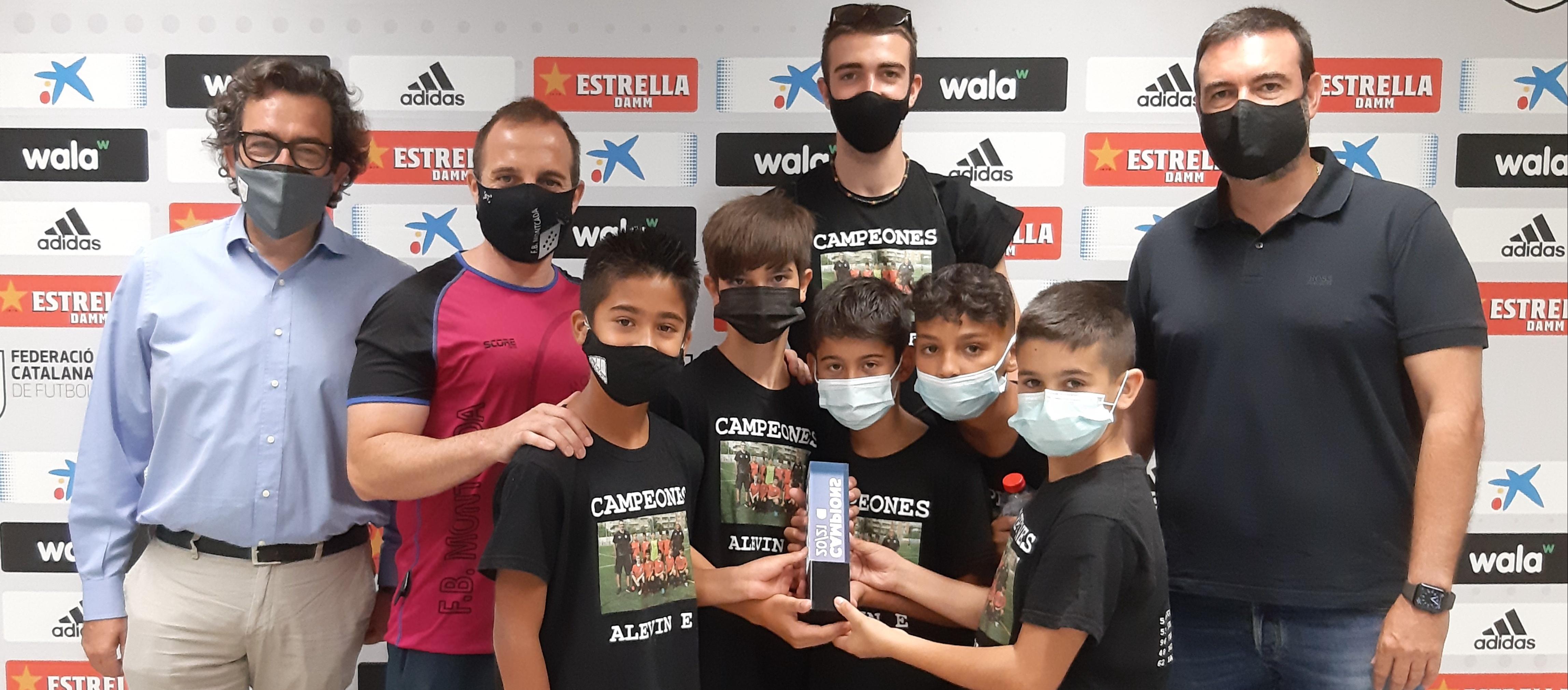 Sabadell reparteix els trofeus dels campions de lliga