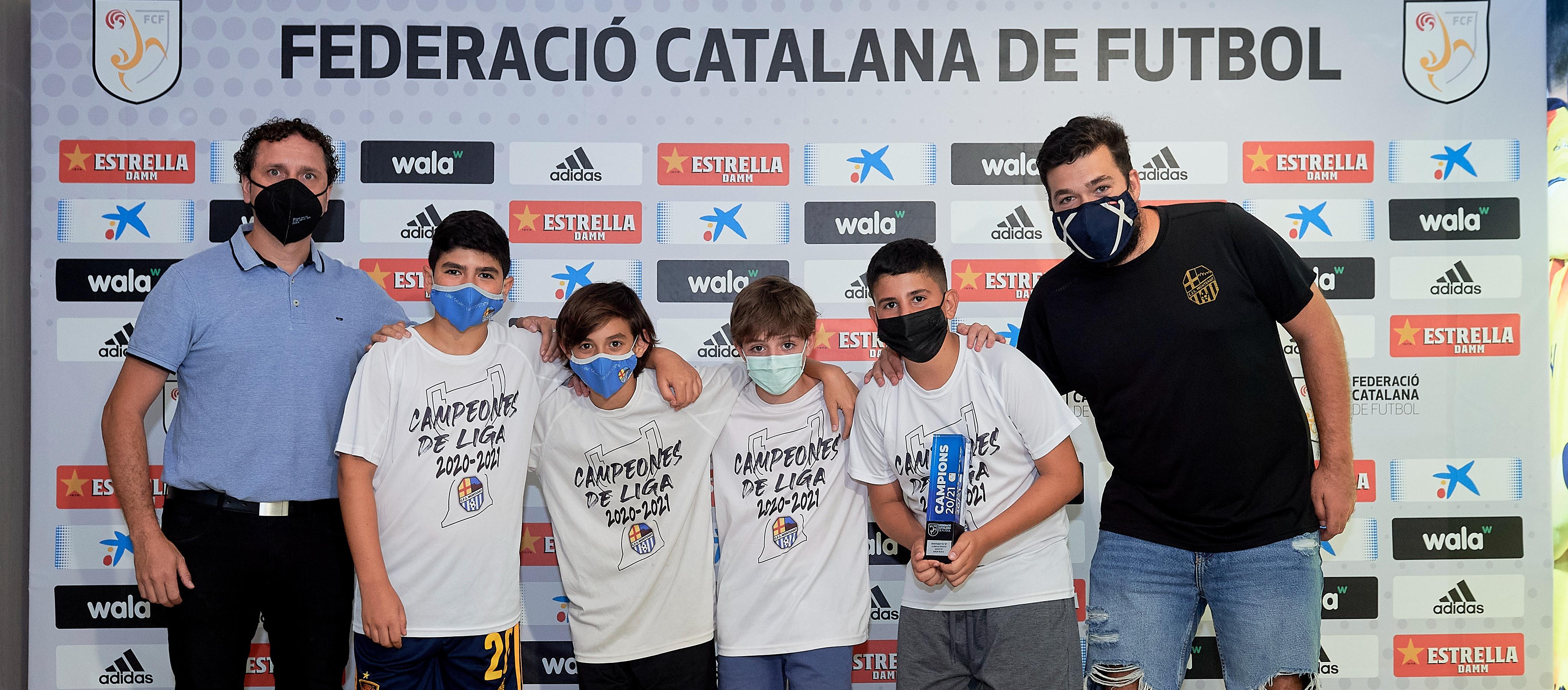 La Lliga Catalana de Futbol Sala entrega els Trofeus de Campions de lliga de Barcelona