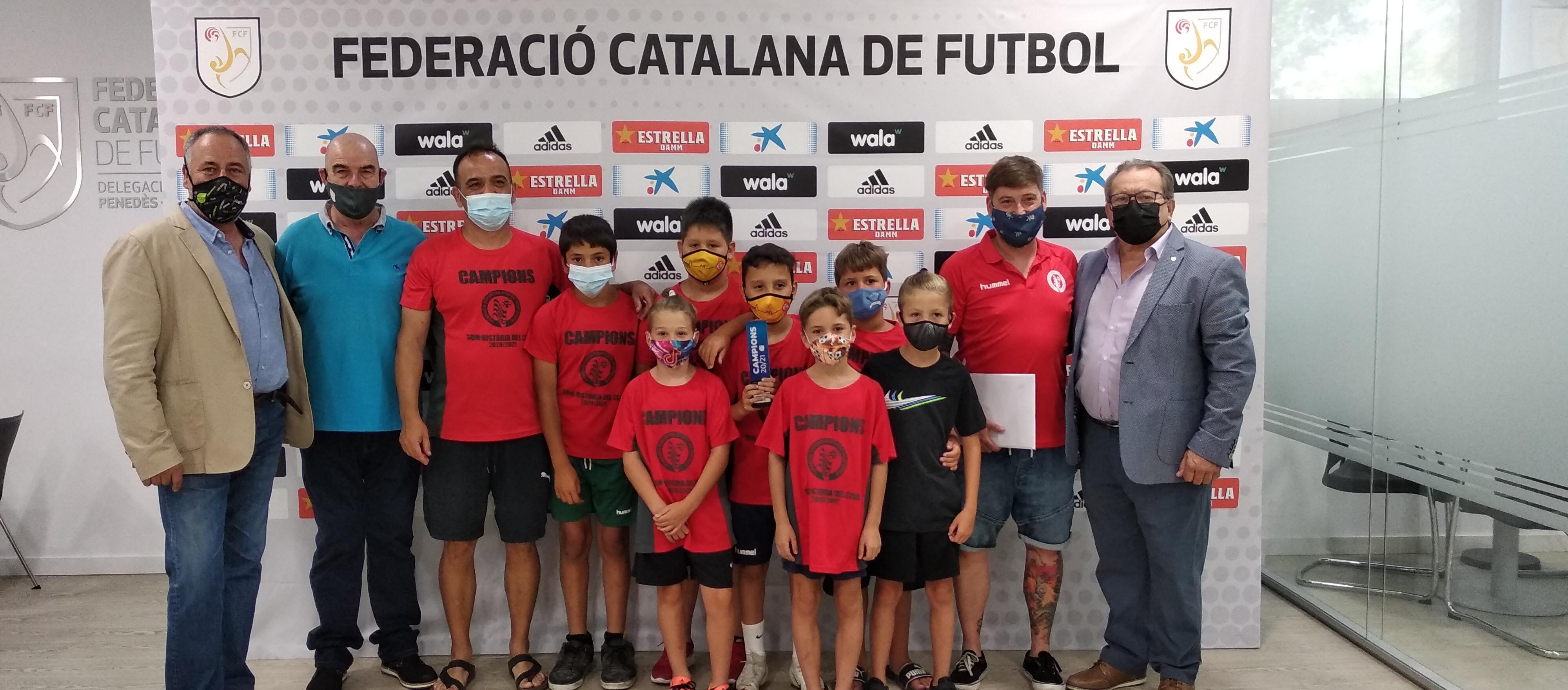El Penedès-Garraf lliura els trofeus dels campions de lliga