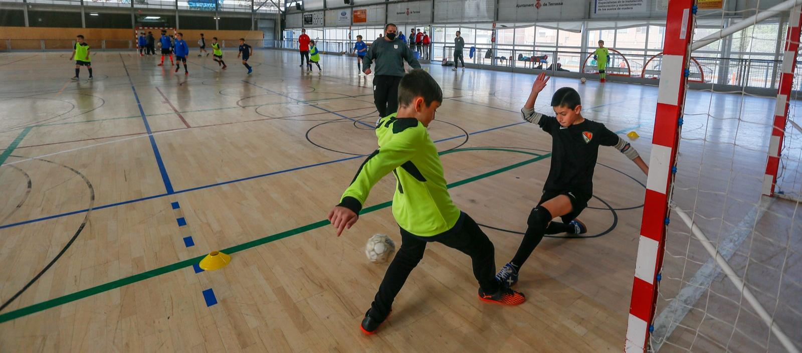 Continuen obertes les inscripcions per als equips de futbol sala 2021-2022