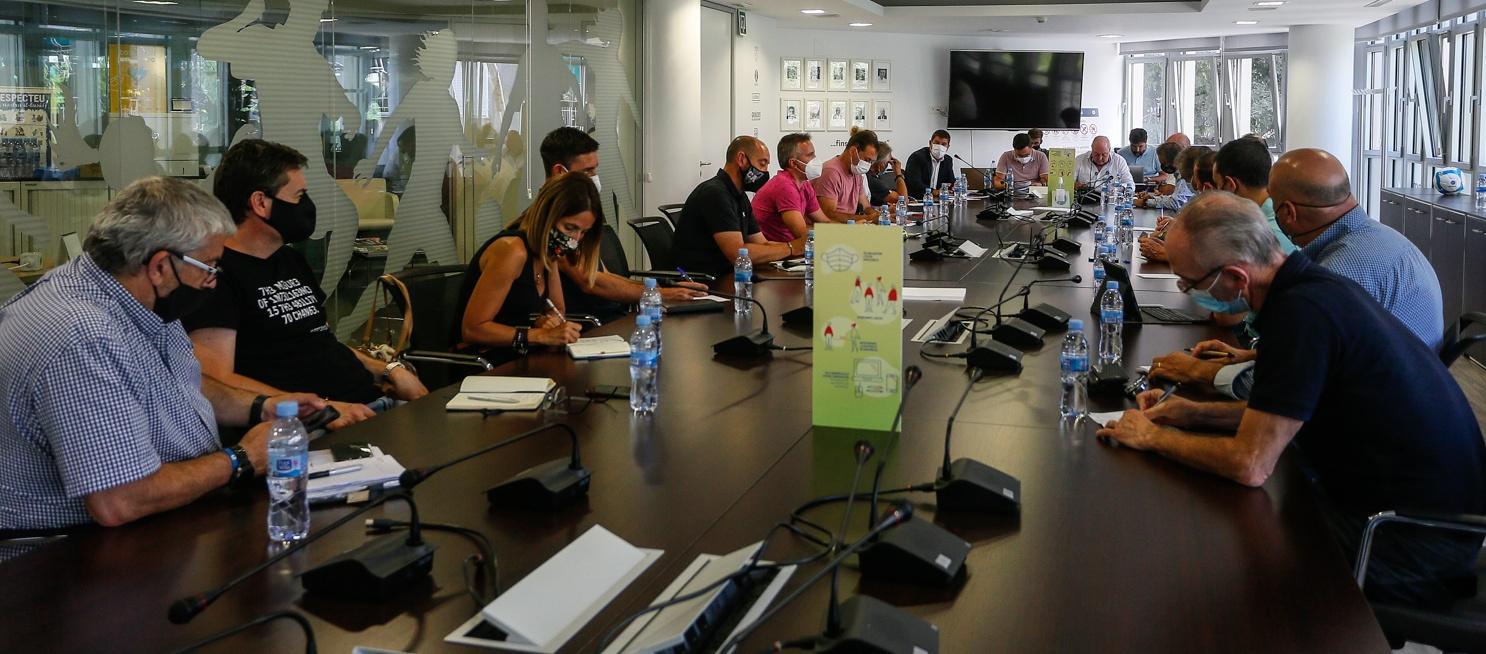 Reunió amb els clubs catalans de Tercera RFEF