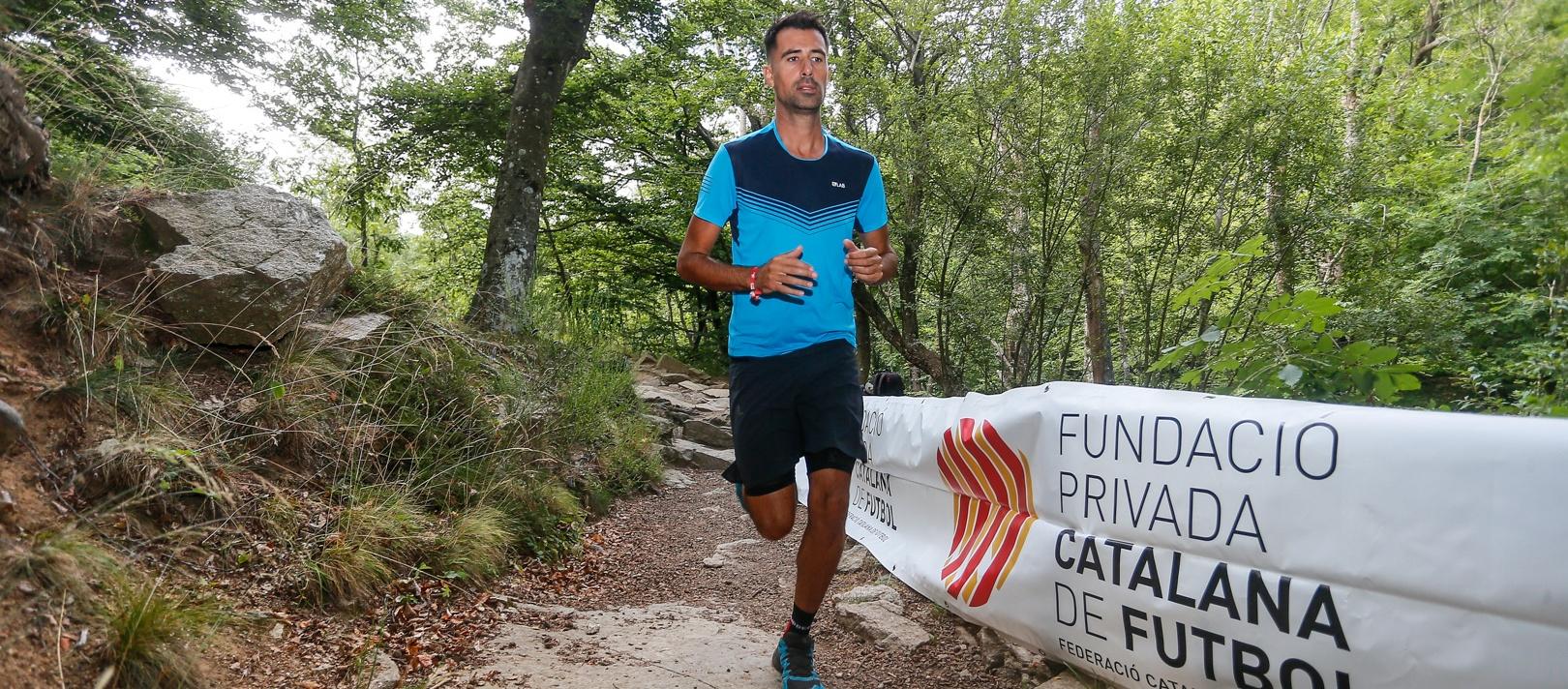 Hèctor Robas, quilòmetres solidaris per la Fundació