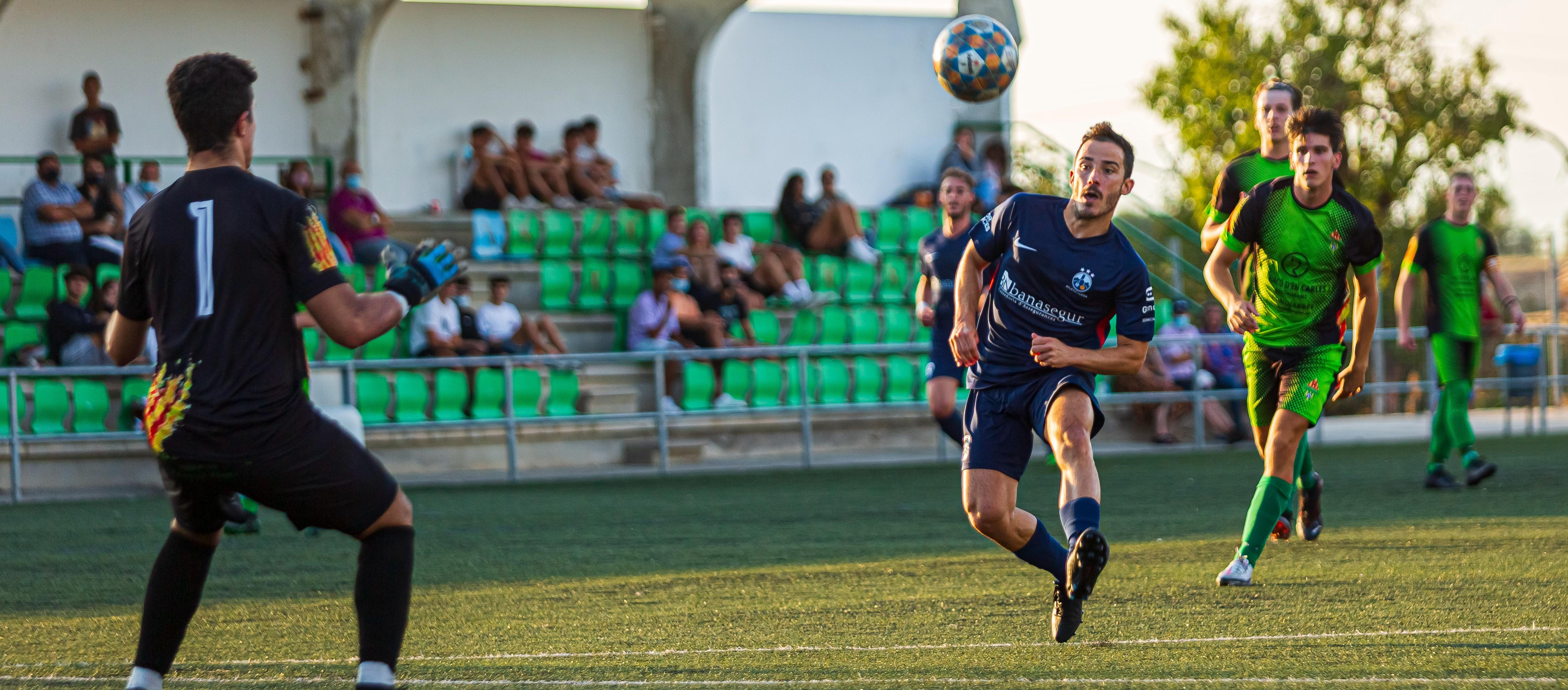 L'anada dels quarts de final de la Copa Lleida Amateur