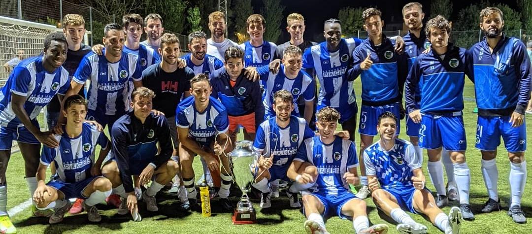 El CE Banyoles es proclama campió de la Copa Pla de l'Estany