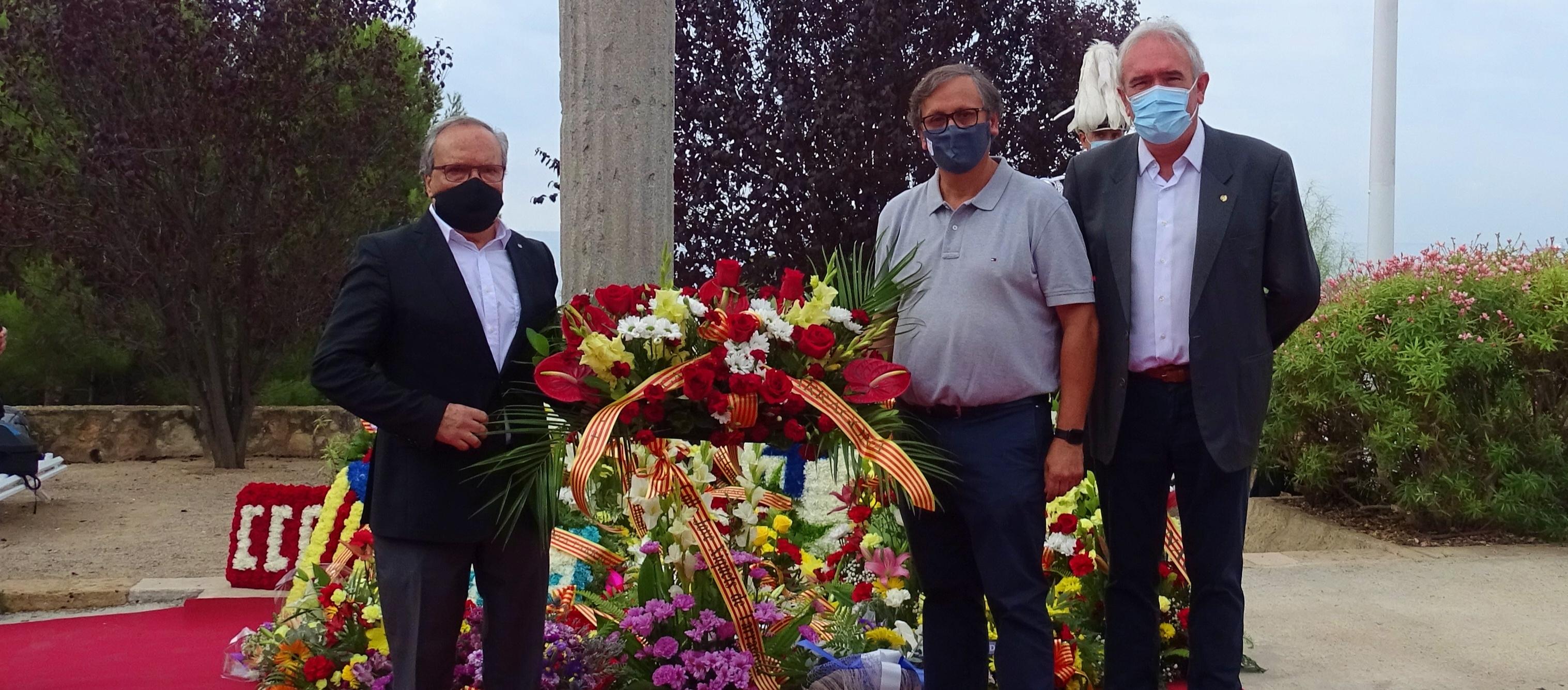 Presència federativa als actes de la Diada a Tarragona