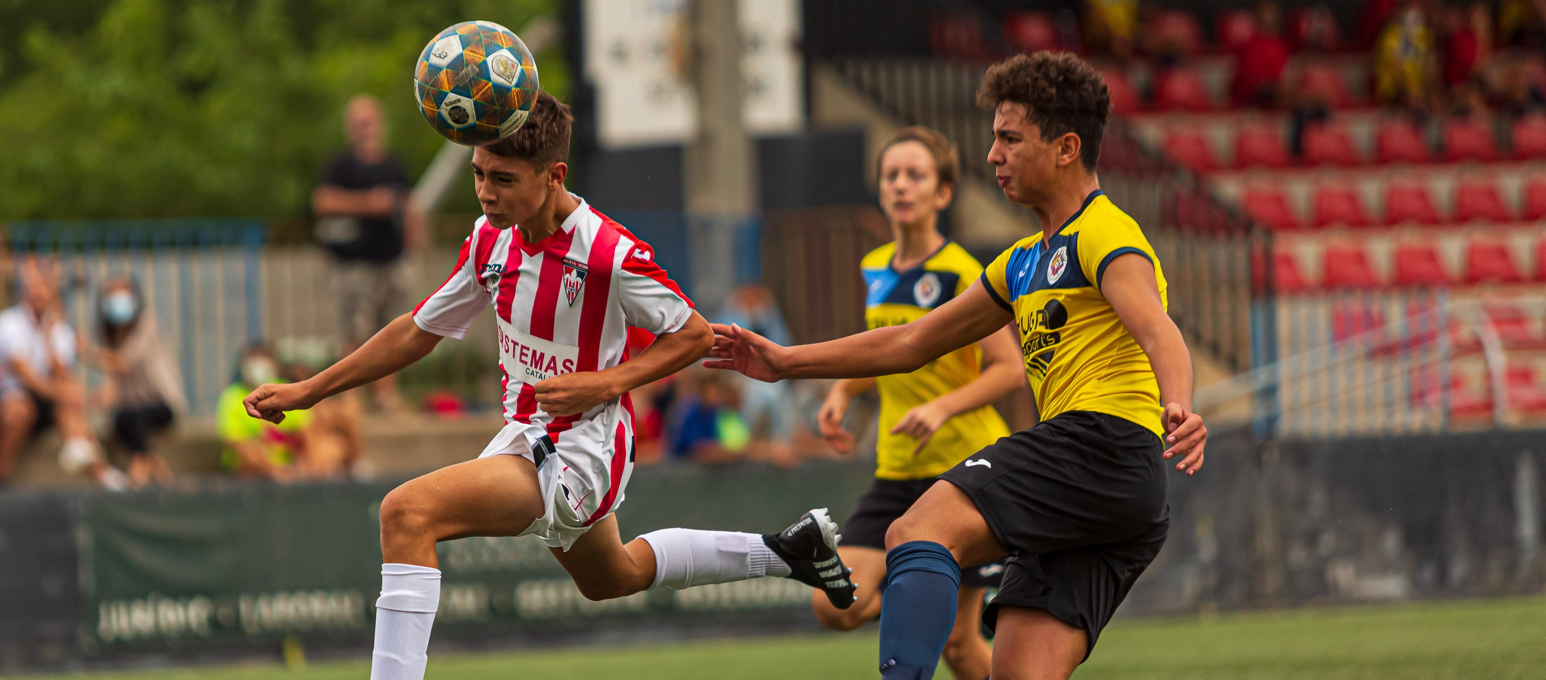 L'Atlètic Segre i la UE Bordeta de Lleida, final de la Copa Lleida Infantil