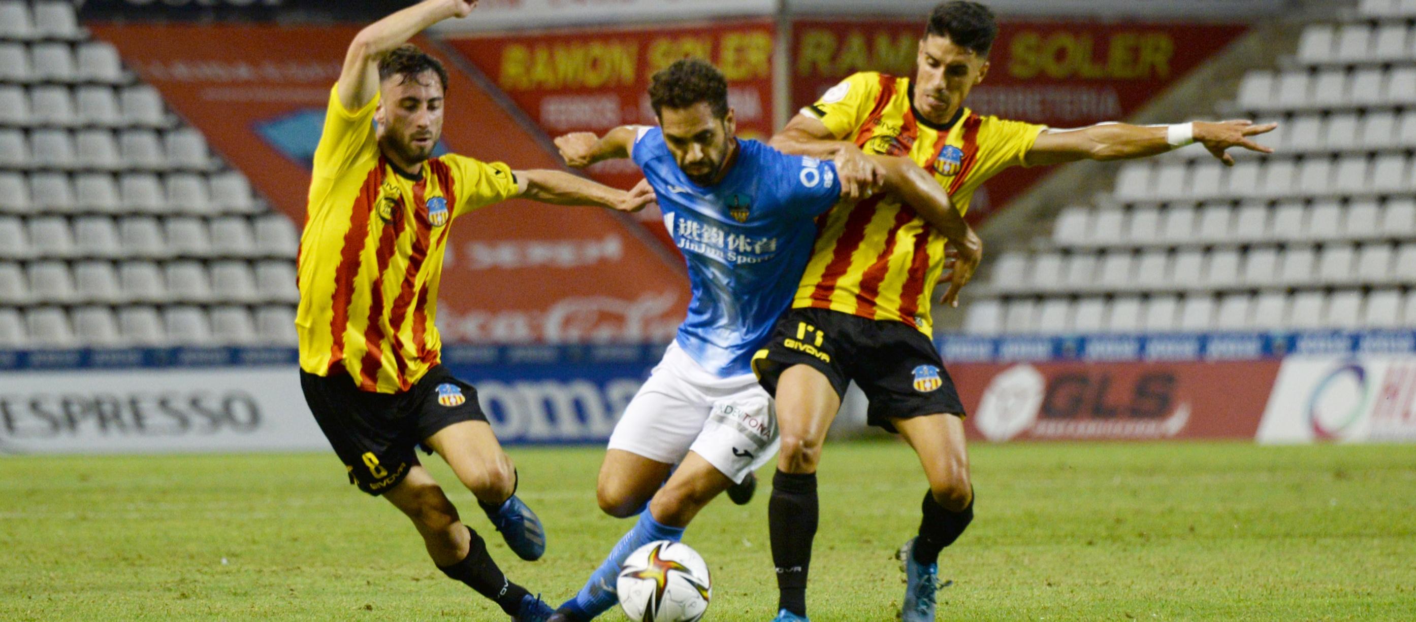 El Lleida Esportiu posa la primera pedra en l'anada de la Copa RFEF