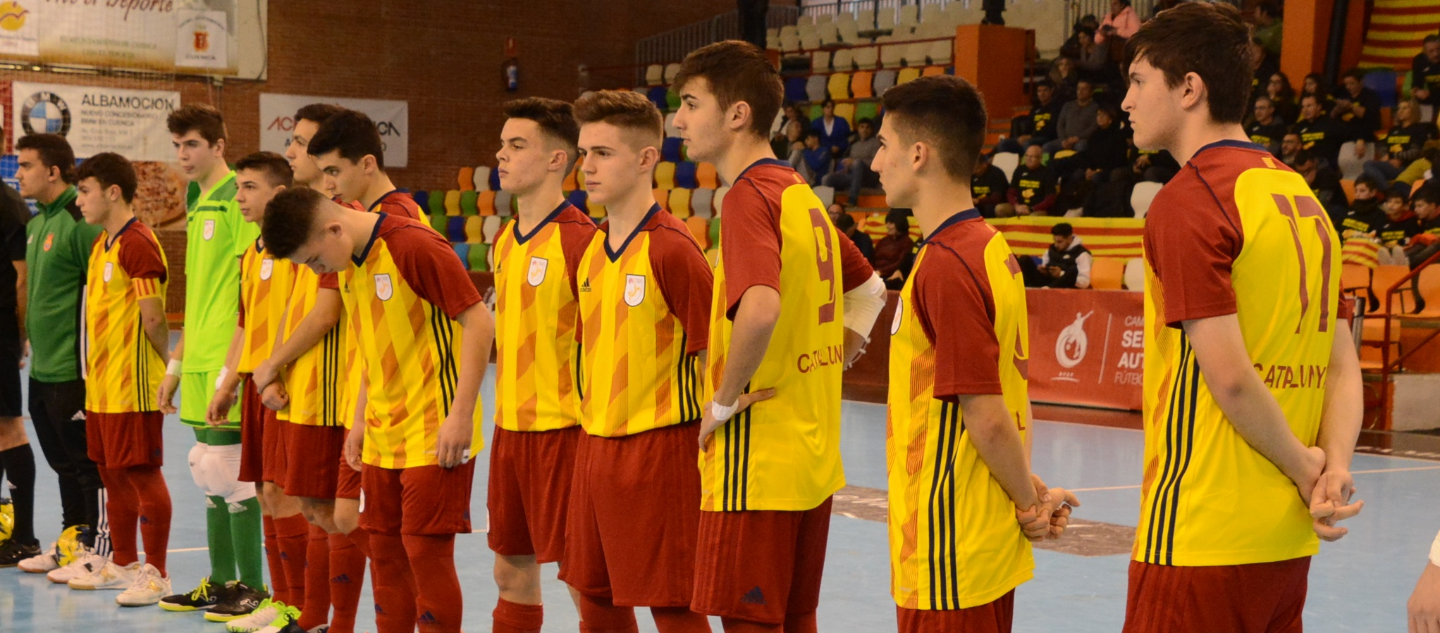L'apartat específic de les Seleccions Catalanes de futbol sala