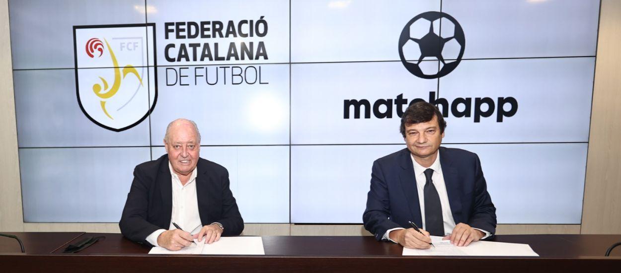 L'FCF i Matchapp signen un acord de col·laboració