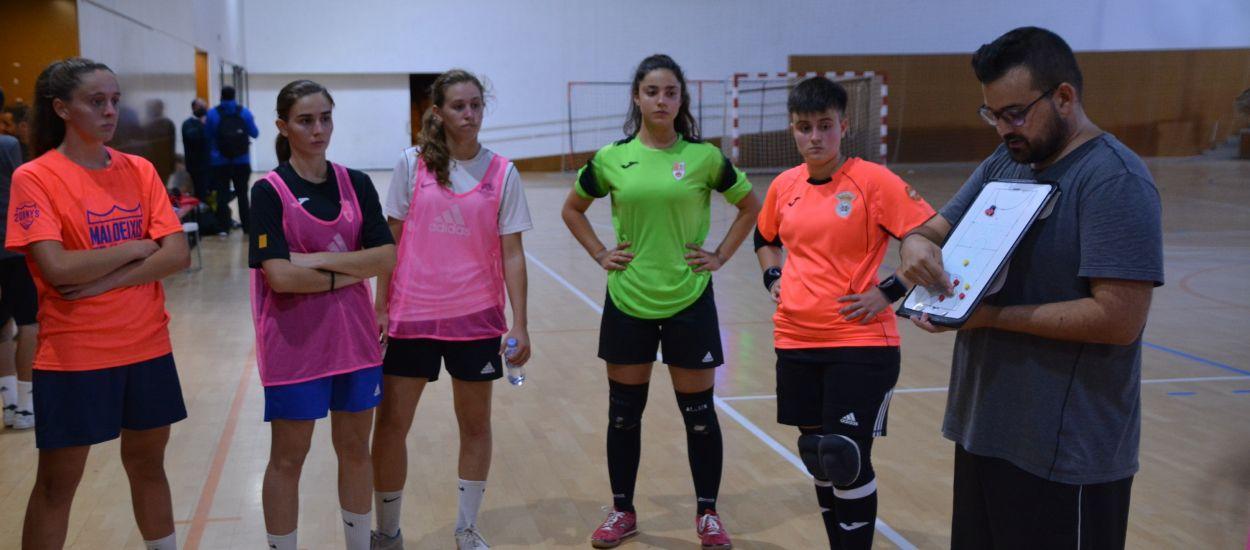 Segon entrenament de les Seleccions Catalanes sub 19 de futbol sala