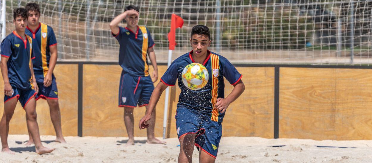 Tres catalans convocats amb la Selecció Espanyola Absoluta masculina de futbol platja