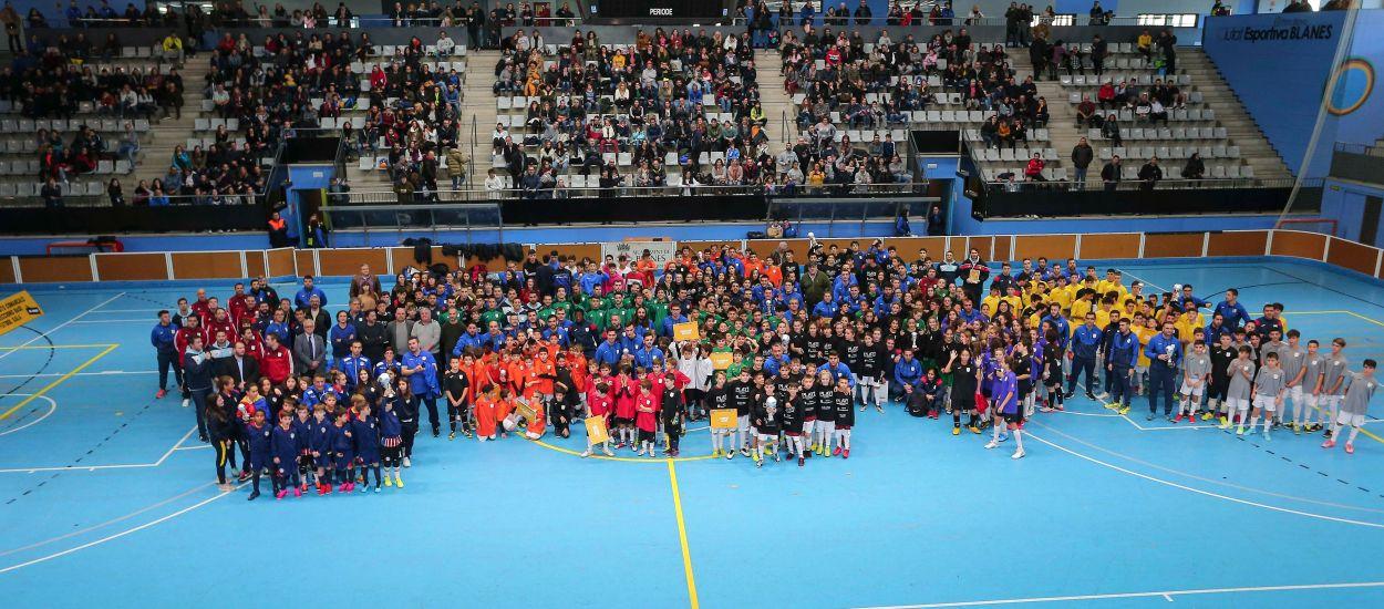 Els grups de la 10a edició dels Campionats Comarcals de futbol sala