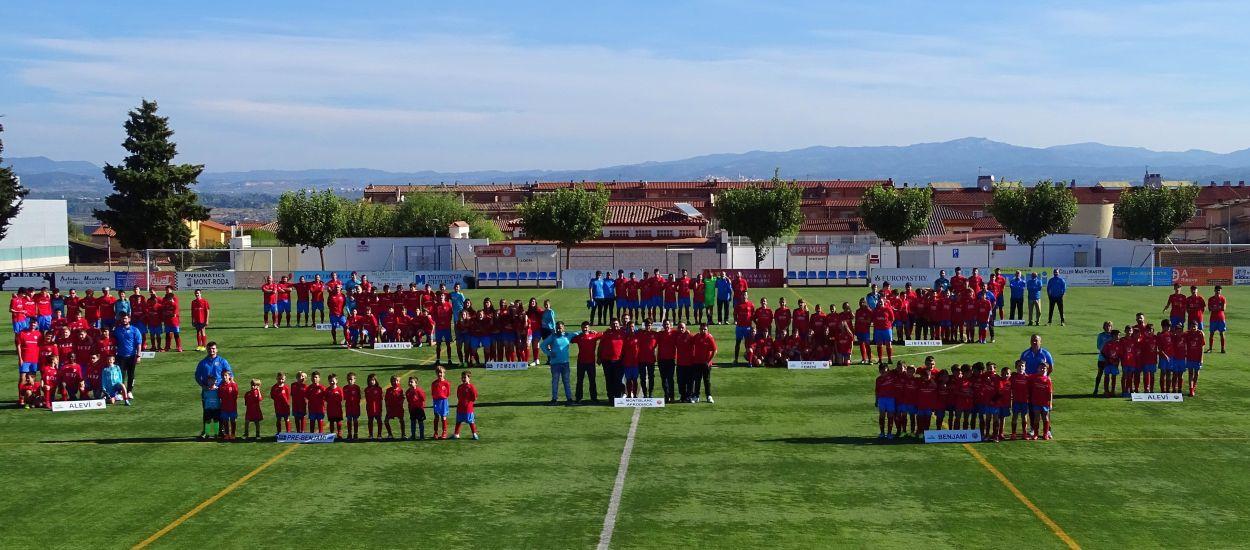 El Montblanc CF presenta els seus equips de la temporada 2021-2022