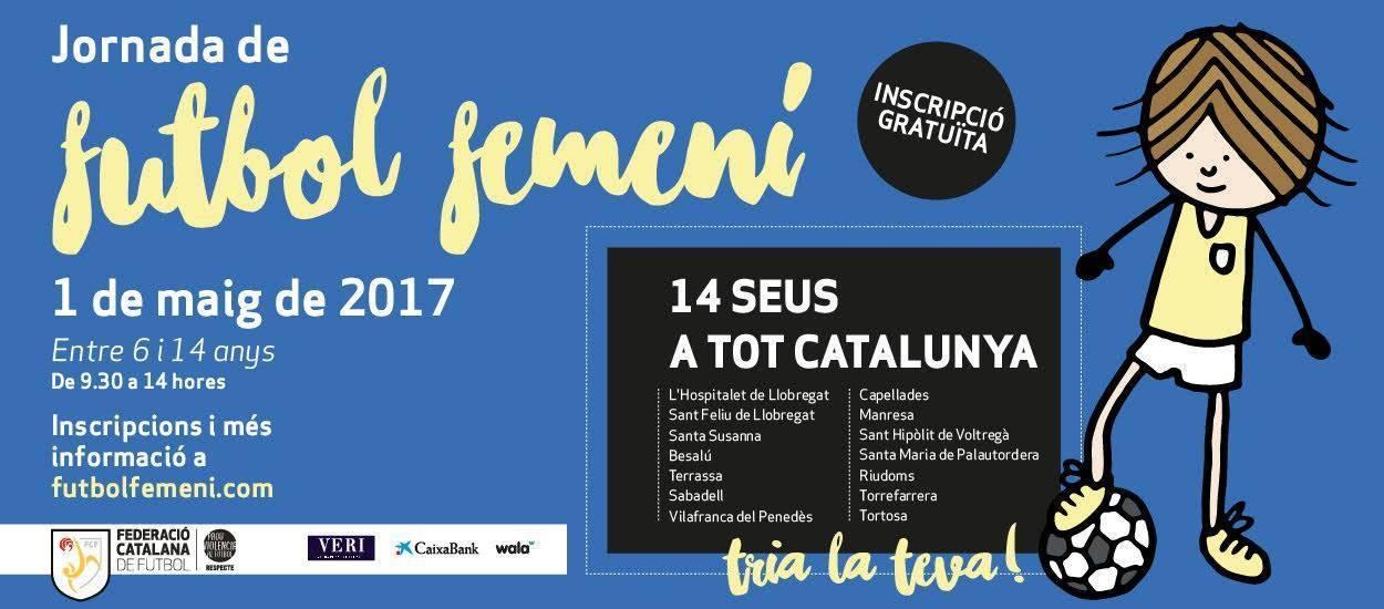 Inscripcions obertes per a la 5a Jornada de Futbol Femení