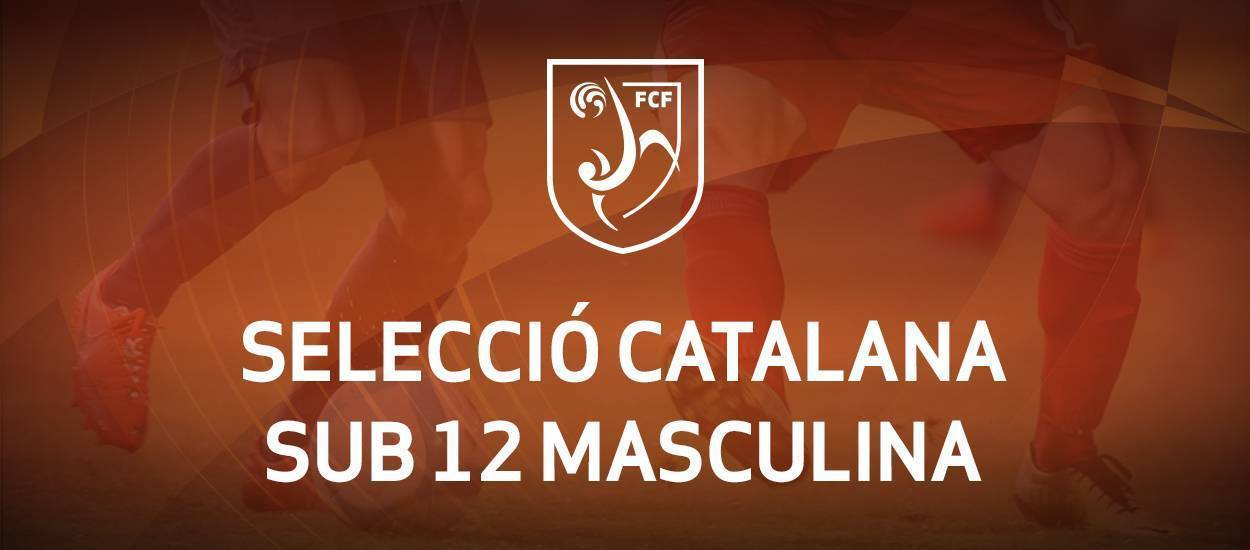 Convocatoria de entrenamiento sub 12 masculina: 25.04.17