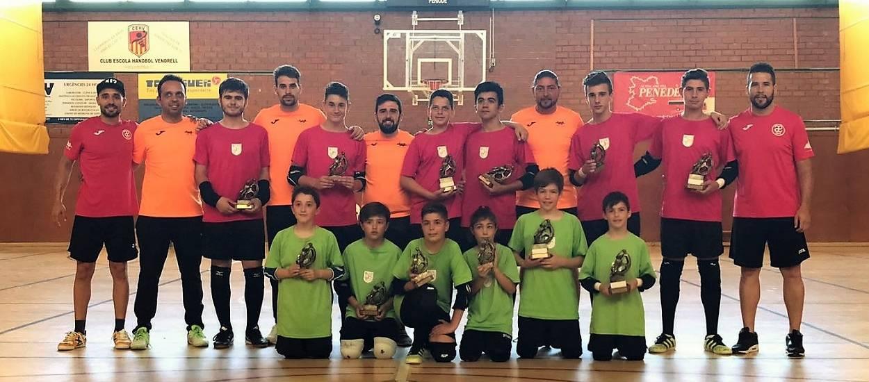 Tarragona celebra el seu segon desafiament de porters de futbol sala