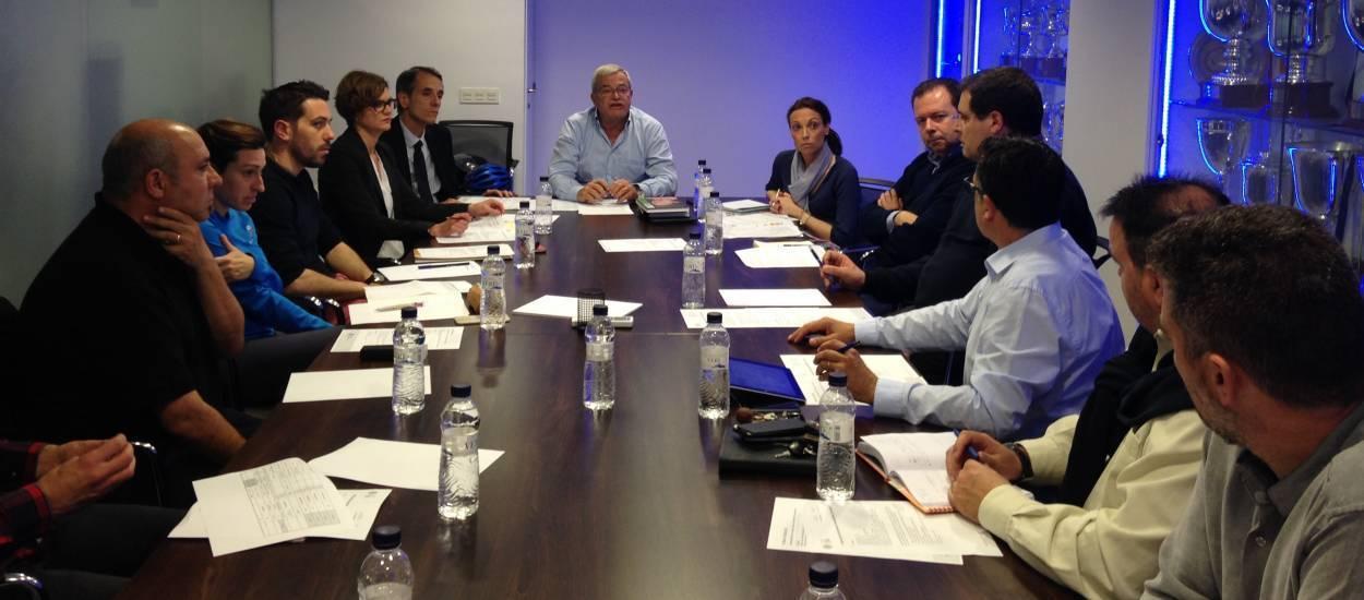 Reunida la Comissió Organitzadora de la jornada 'Enfutbola't. Futbol per Tothom'