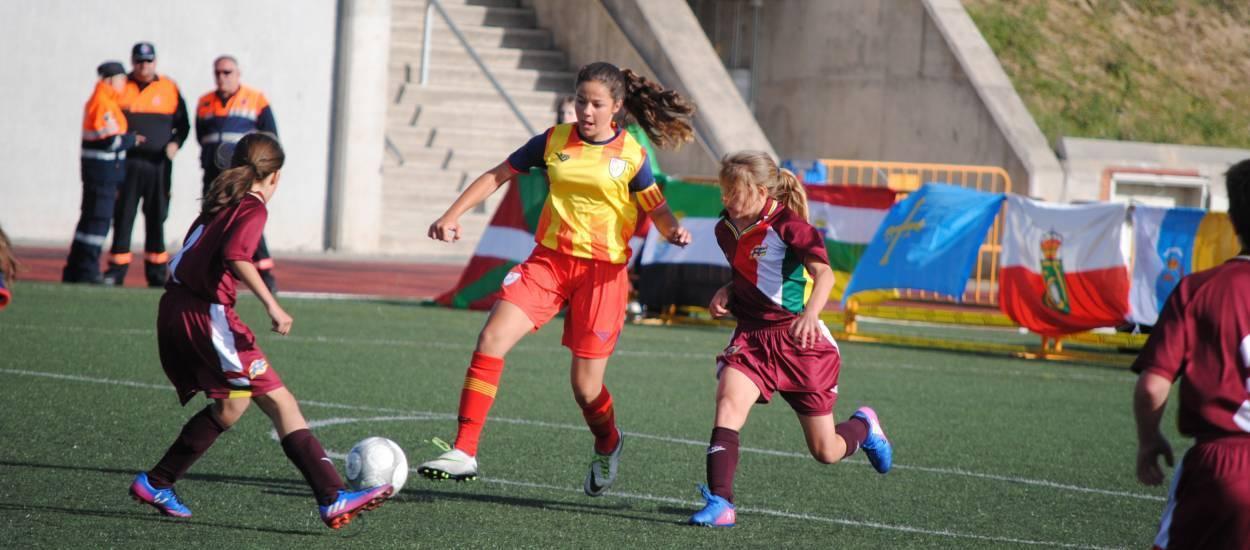 Victòria treballada de la sub 12 femenina davant La Rioja