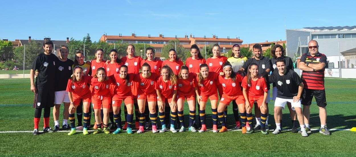 La Selecció Catalana sub 16 femenina prepara el seu debut al Campionat d'Espanya a Àlaba