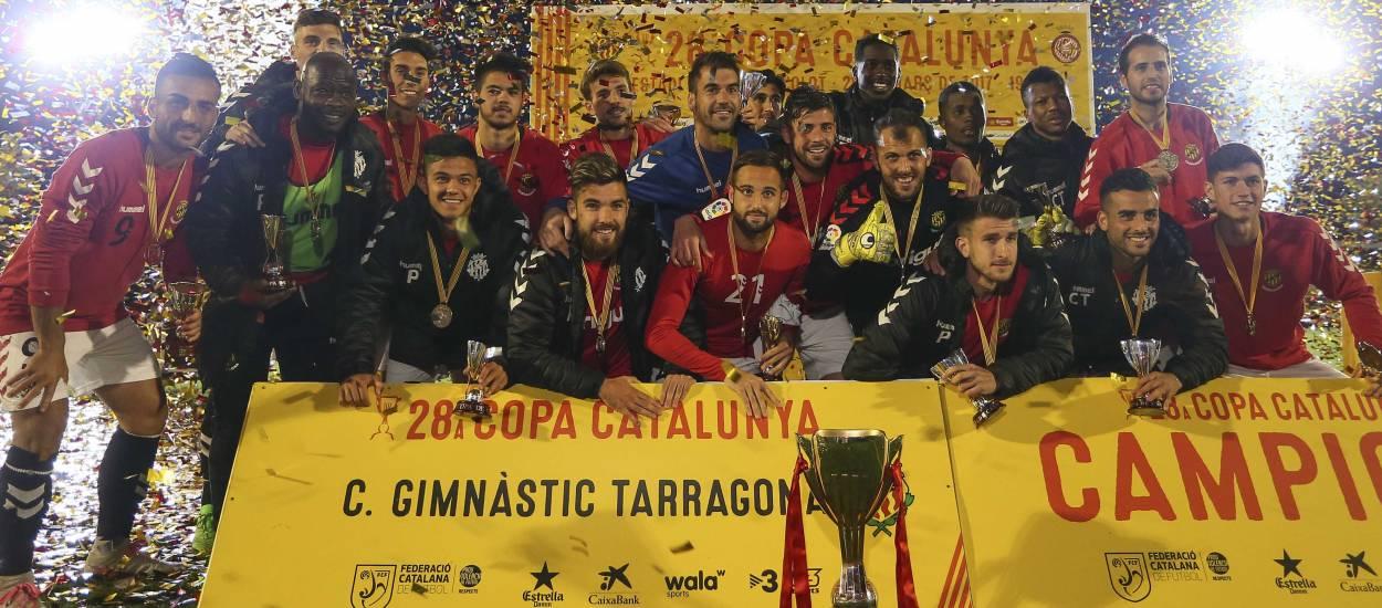 El Gimnàstic de Tarragona conquereix la seva tercera Copa Catalunya