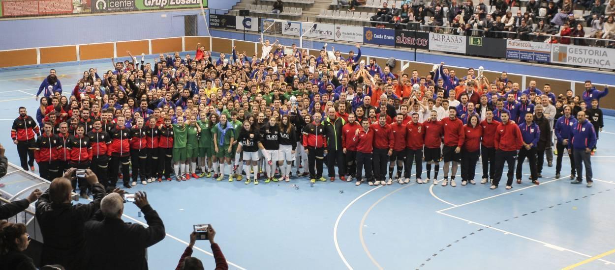 La classificació final de la 6a edició dels Campionats Comarcals