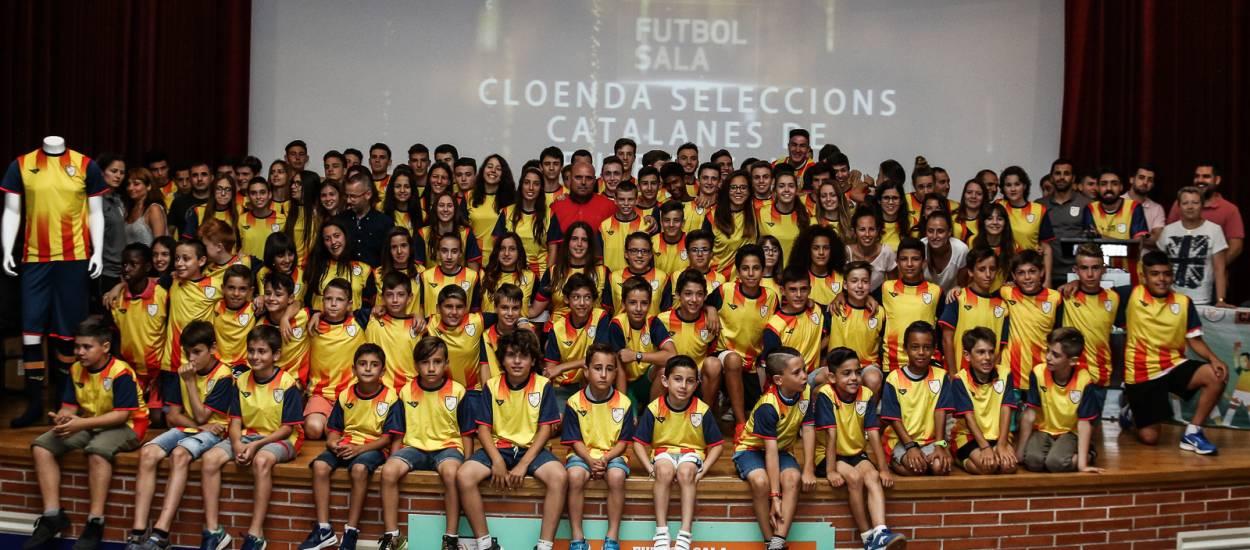 Les Seleccions Catalanes de Futbol Sala es reuneixen per concloure la temporada