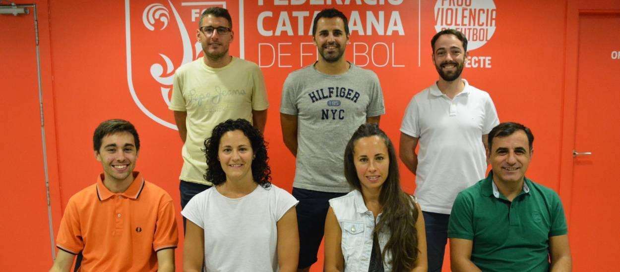 Tret de sortida de les seleccions catalanes  de futbol sala