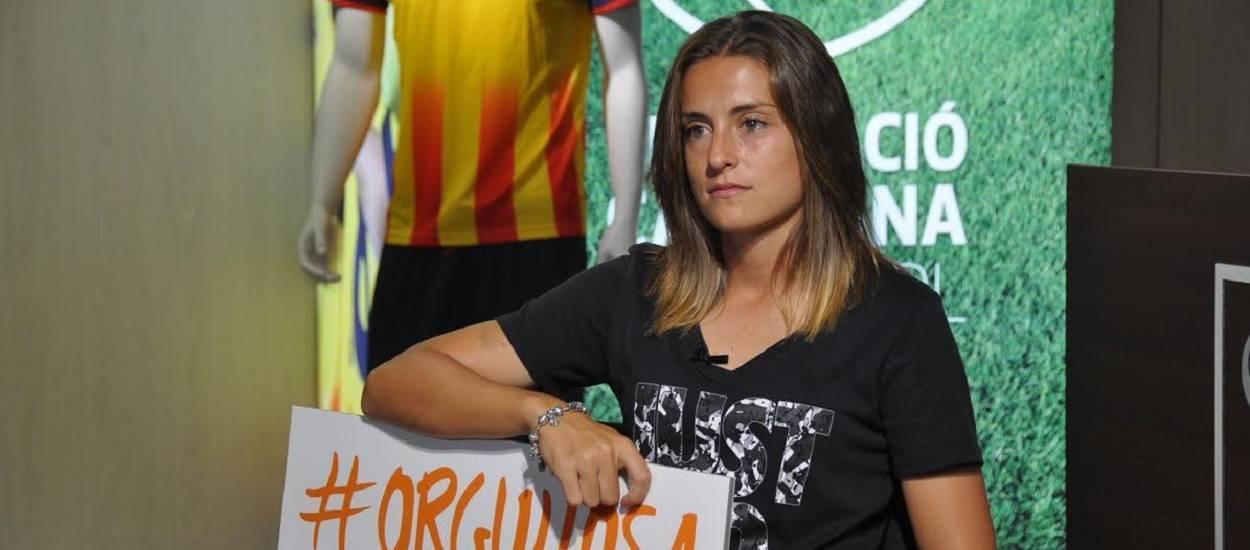 """Alèxia Putellas: """"El futbol femení està creixent a passes agegantades"""""""