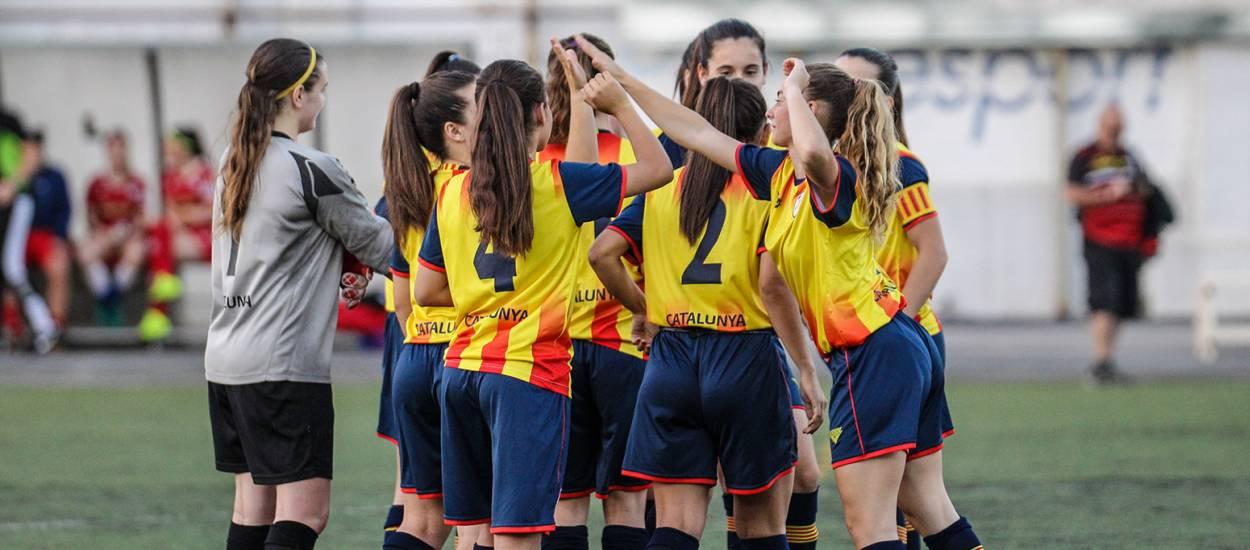 La Selecció sub 16 femenina disputa la Fase Final del Campionat d'Espanya a Àlaba