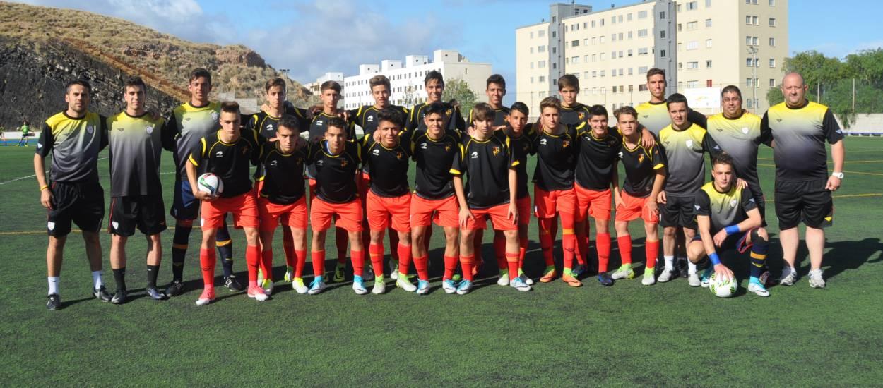 La Selecció sub 16 masculina aterra a les Illes Canàries