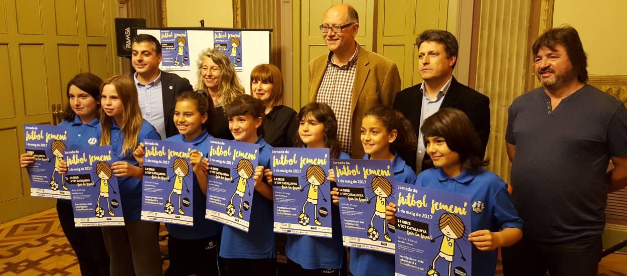 Presentada la Jornada de Futbol Femení al Baix Llobregat
