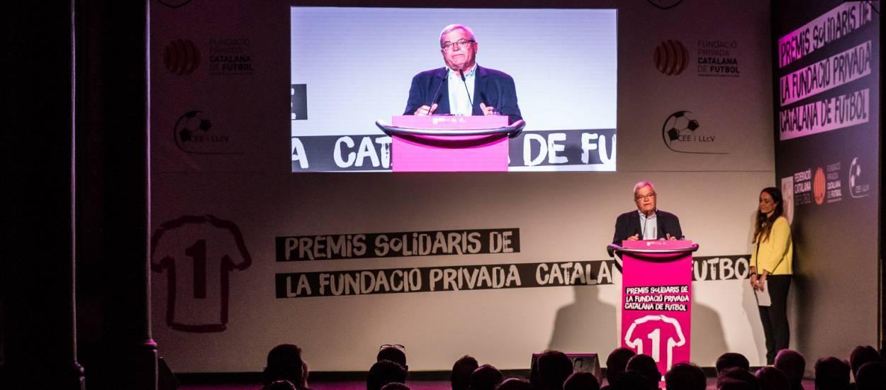 La Fundació de l'FCF lliura els I Premis Solidaris
