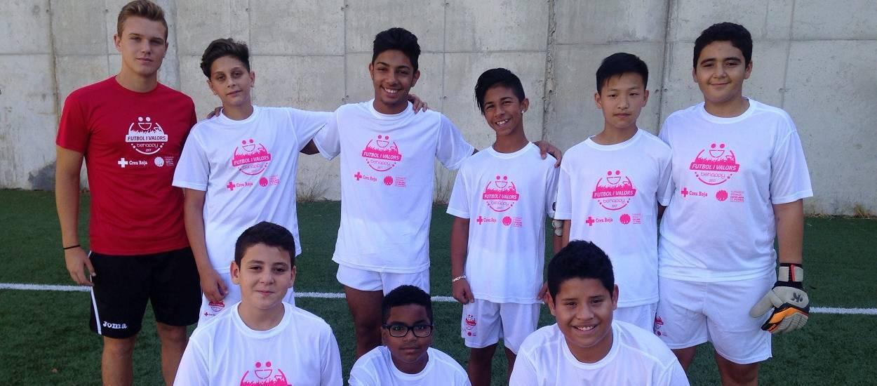 Comença el Campus Solidari de Futbol de la Fundació Catalana de Futbol