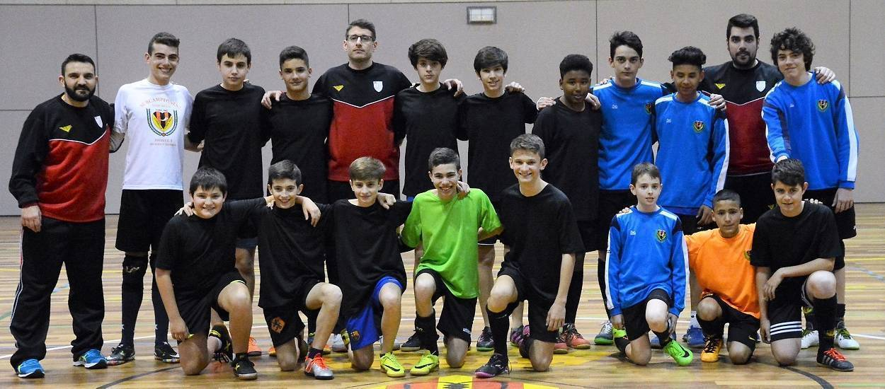 Jornades de Tecnificació de futbol sala pels equips del Cornellà CFS