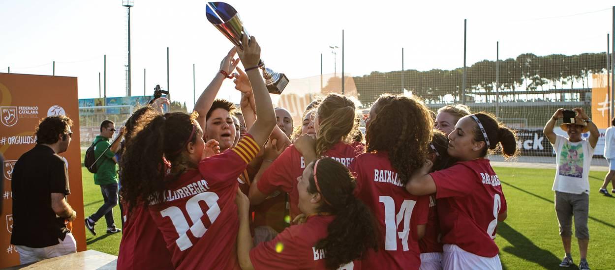 El futur del futbol femení gaudeix d'una gran jornada a Salou