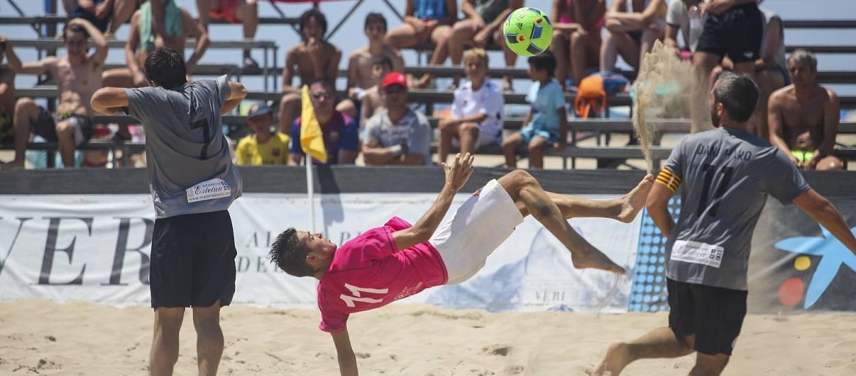 Obertes les inscripcions pels campionats de Catalunya de futbol platja