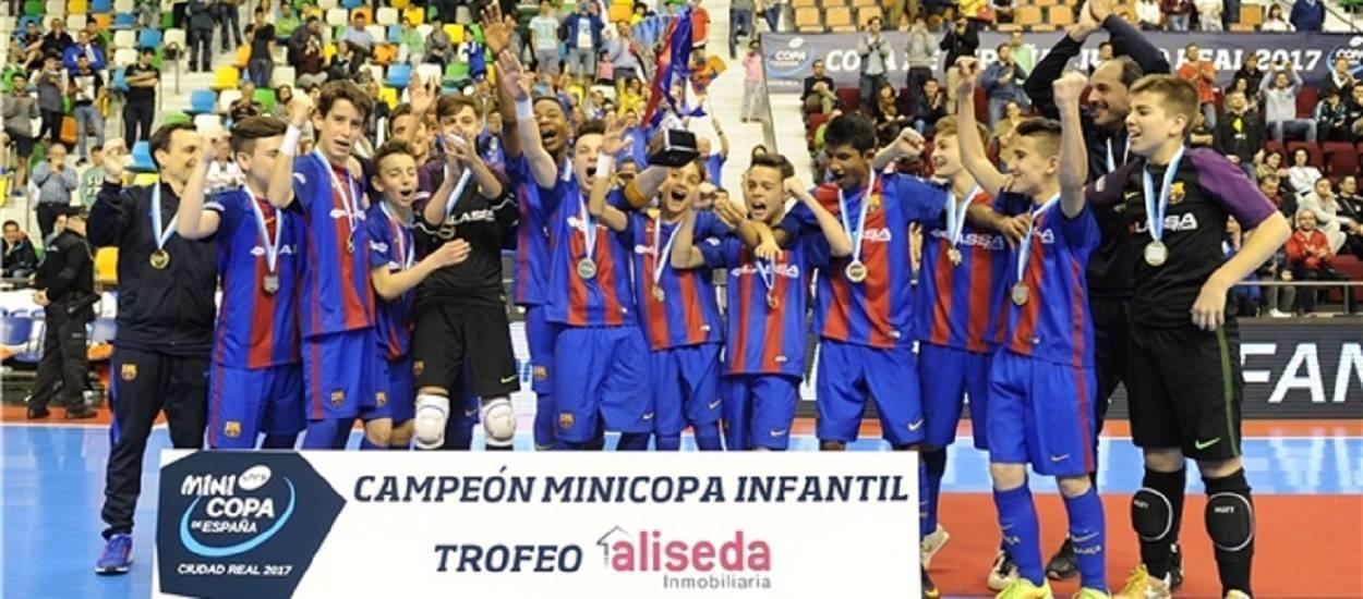 El Barça Lassa manté l'hegemonia en la Minicopa Infantil
