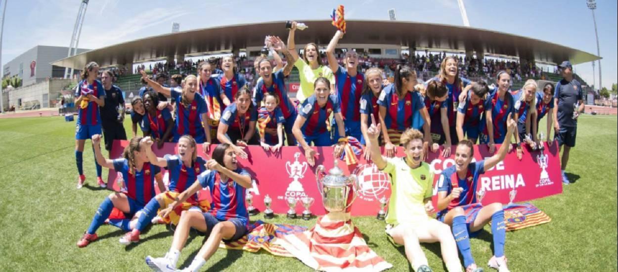 El Barça, campió de la Copa de la Reina