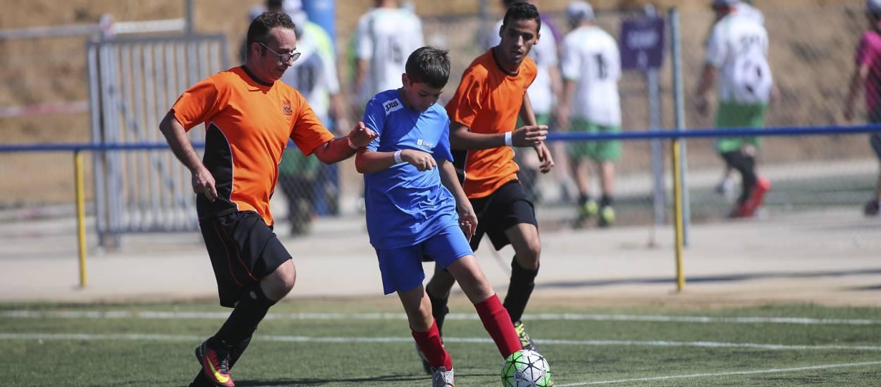 L' 'Enfutbola't. Futbol per a tothom', un triomf per al futbol inclusiu