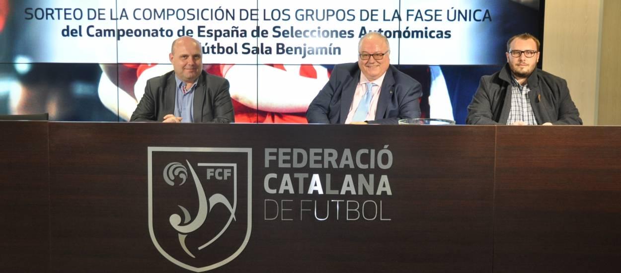 Celebrat el sorteig de la Fase Única Benjamí de Futbol Sala