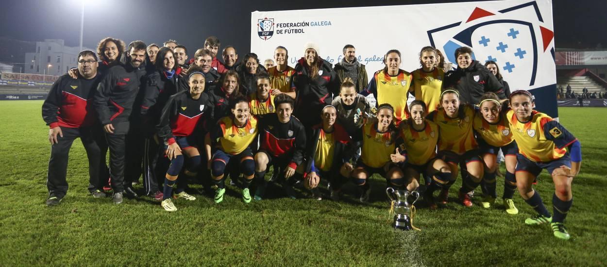 Catalunya s'exhibeix davant Galícia