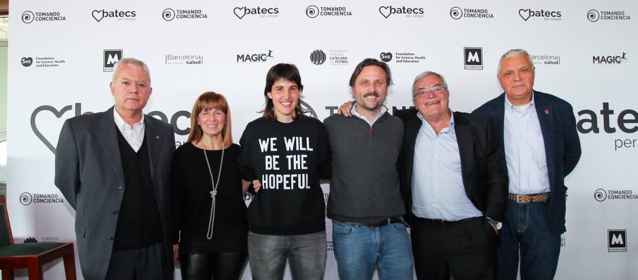 La Fundació de la FCF assisteix a l'acte 'Batecs per Jarque'