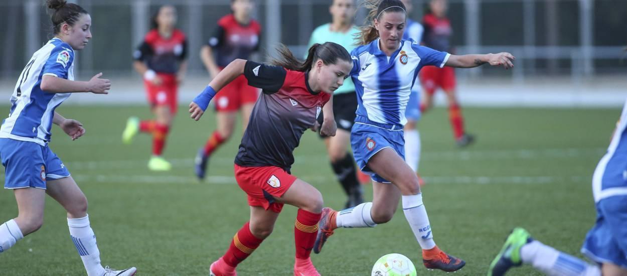 Treballat empat de la sub 16 femenina davant l'Espanyol 'B'